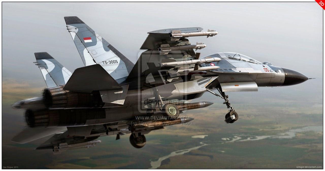Kekuatan pertahanan Indonesia terus meningkat