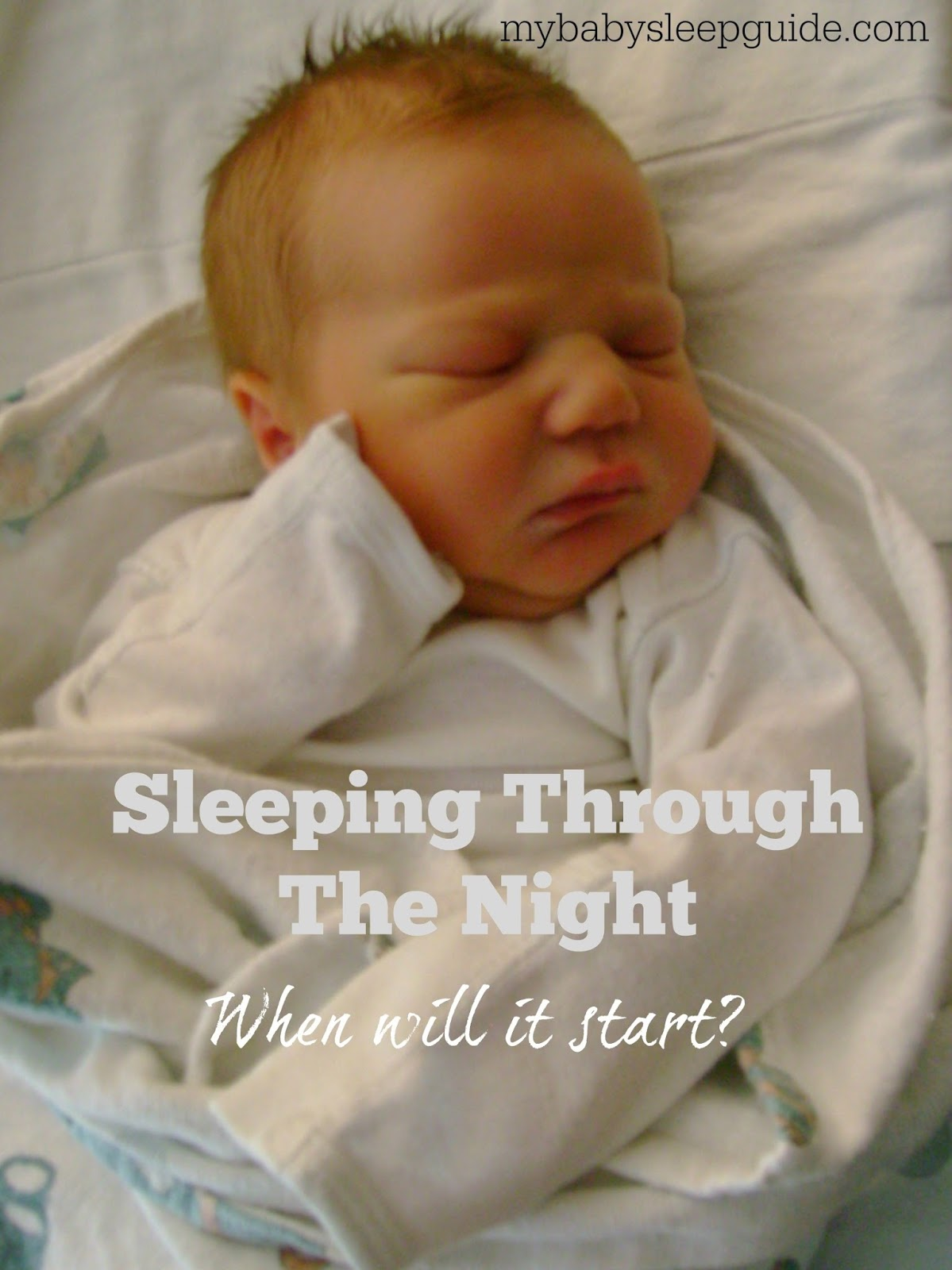 Sleeping Through The Night - When Will It Start? ~ My Baby Sleep ...