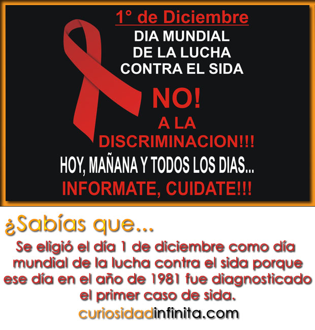 dia mundial de la lucha contra el sida 1 de diciembre
