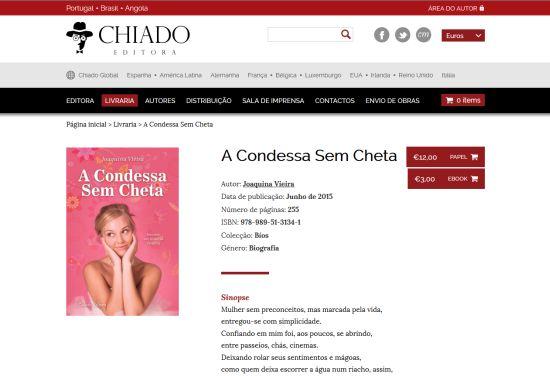 A Condessa sem Cheta