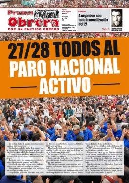 PRENSA OBRERA Nº 1328