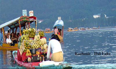 India Travel - Kashmir Dal Lake