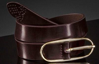 cinturón piel Massimo Dutti mujer NYC edición limitada