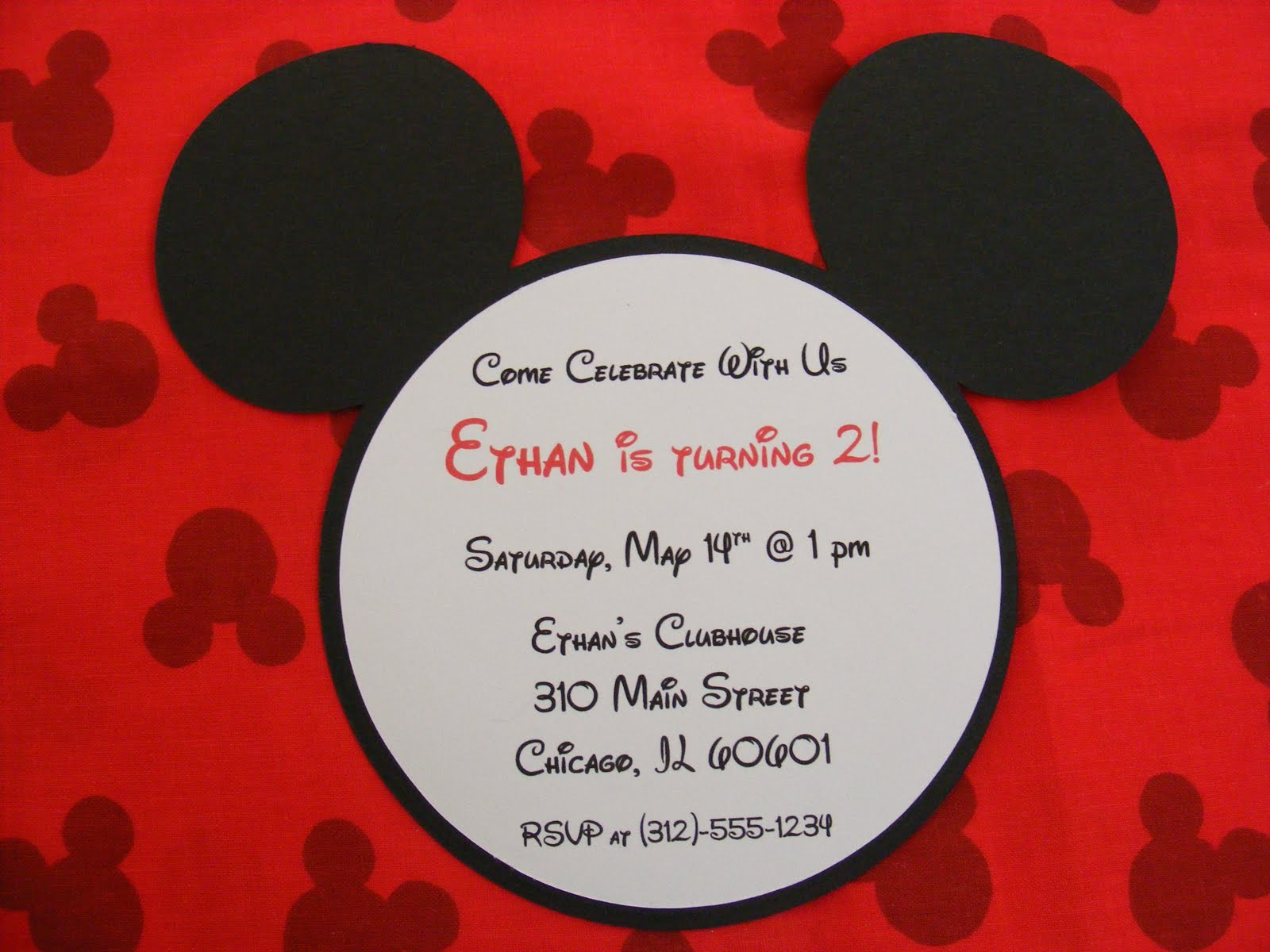 Mickey mouse invitations diy onweoinnovate mickey mouse invitations diy stopboris Image collections