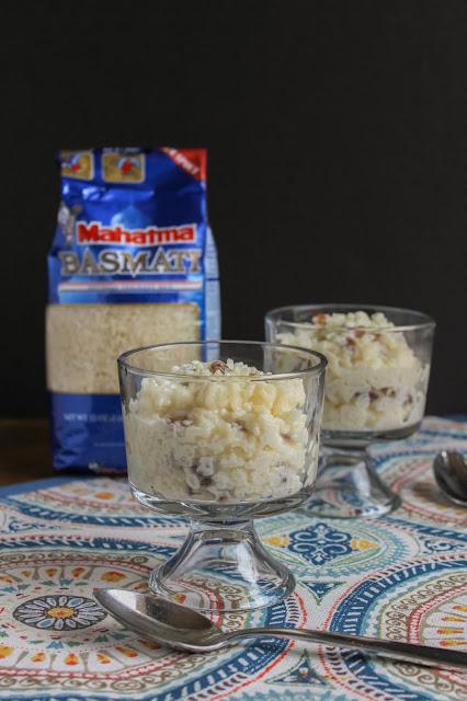 Creamy Vanilla Rice Pudding    The Chef Next Door #HolidayRiceRecipes