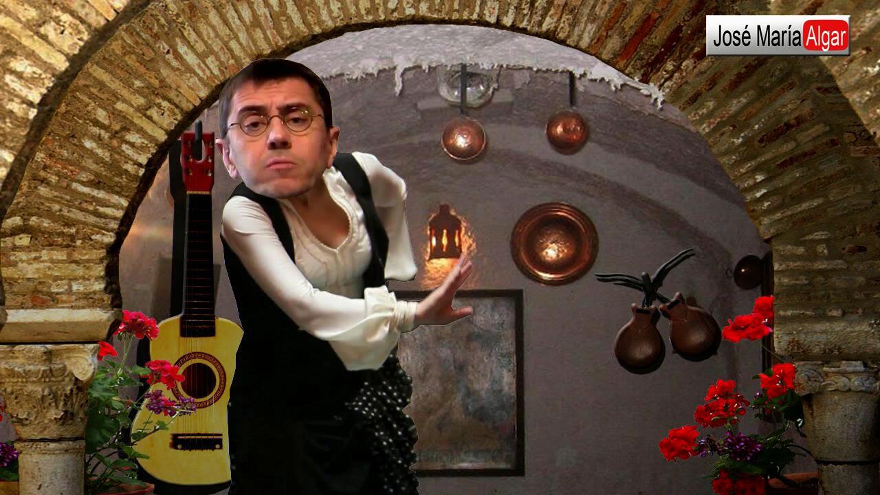 Monedero atacado por el camarero Casillas con un zapato