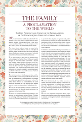 Proclamation for Girls