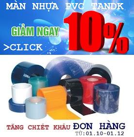 banner MÀN NHỰA PVC