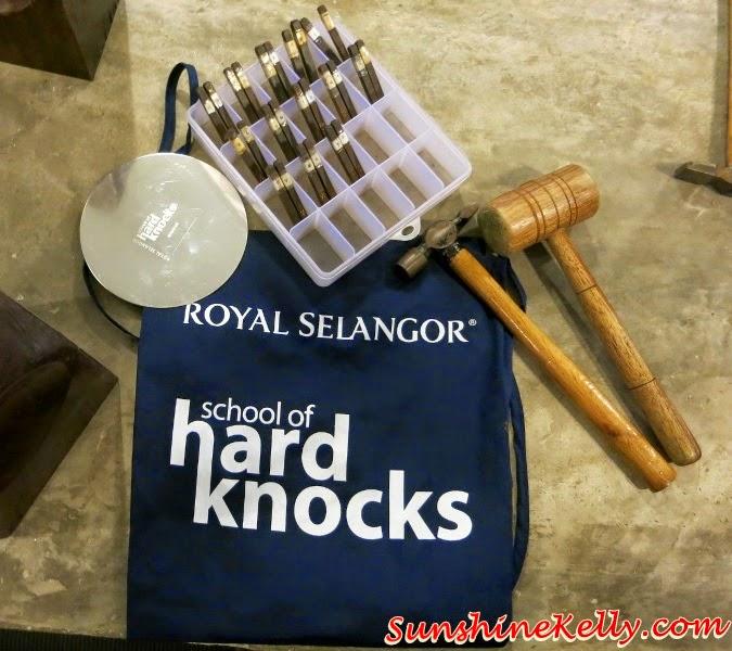 School of Hard Knocks, DIY Pewter Dish, Royal Selangor Visitor Centre, Royal Selangor Pewter, Royal Selangor