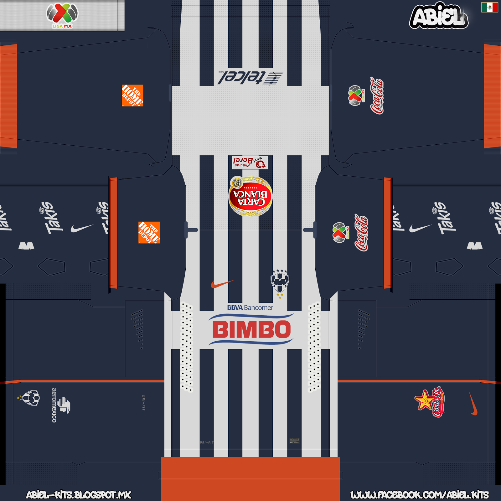 monterrey fc preview gbd hd to pes 2014 abiel kits