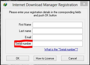 free IDM serial key