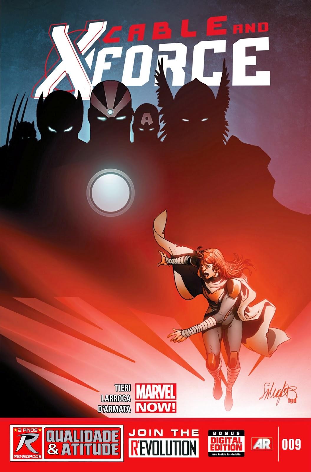 Nova Marvel! Cable e a X-Force #9