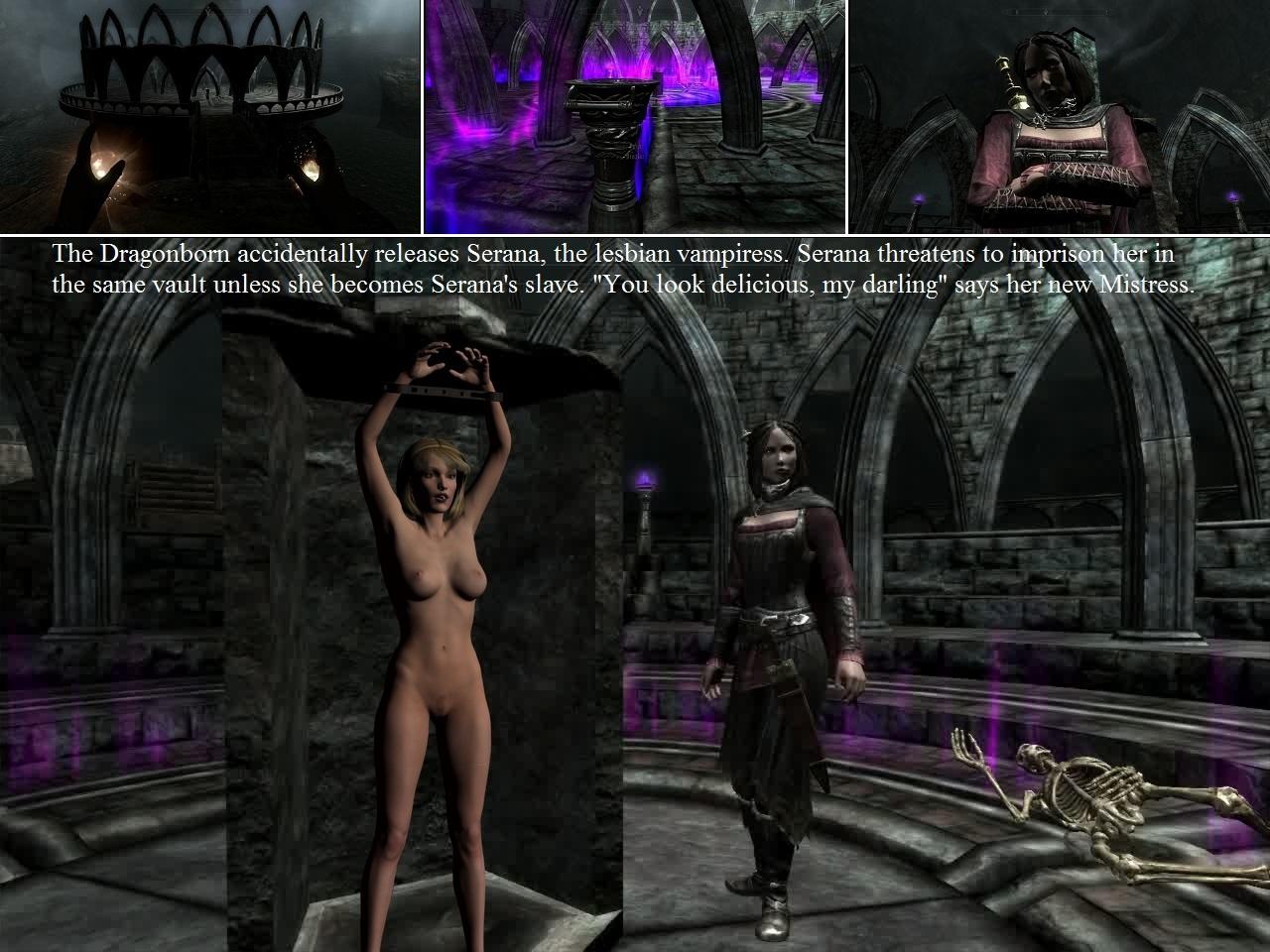 Skyrim nude mod bondage naked thumbs