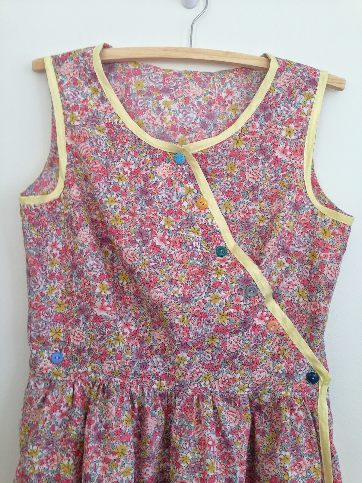 Button down Wrap Around Dress