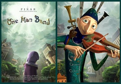 """One Man Band"" / Pixar short:"