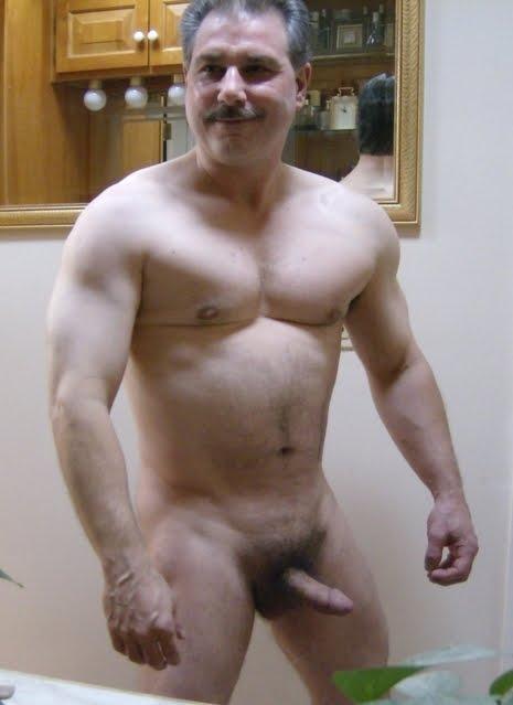 moustache gay daddies