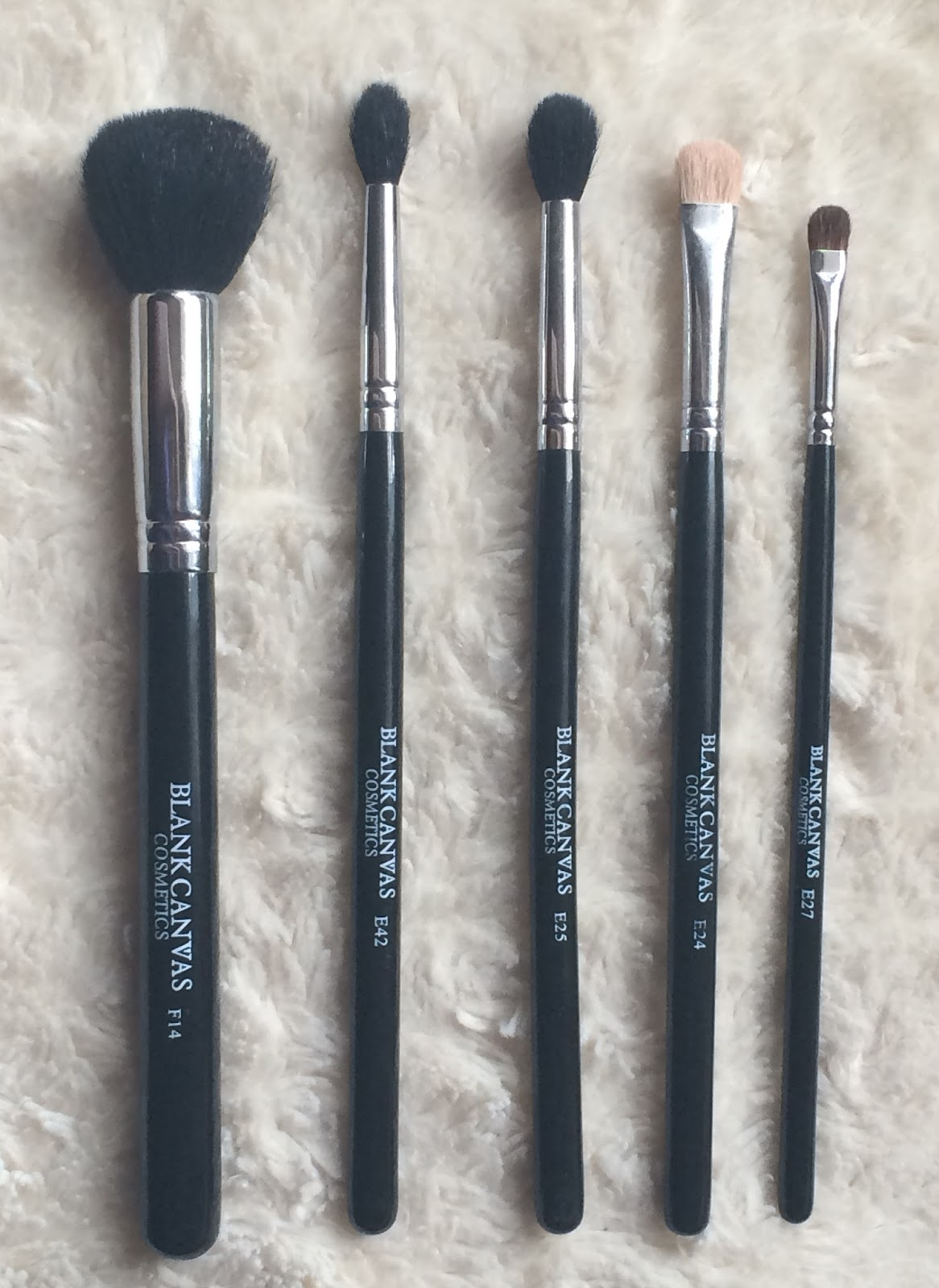 BLANK CANVAS COSMETICS BRUSHES