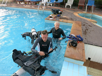 PADI IDC on Koh Lanta, Thailand January 2016 has been completed