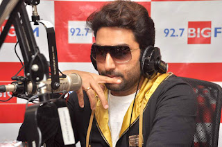 Abhishek Bachchan on radio