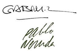 hola design famous authors signatures