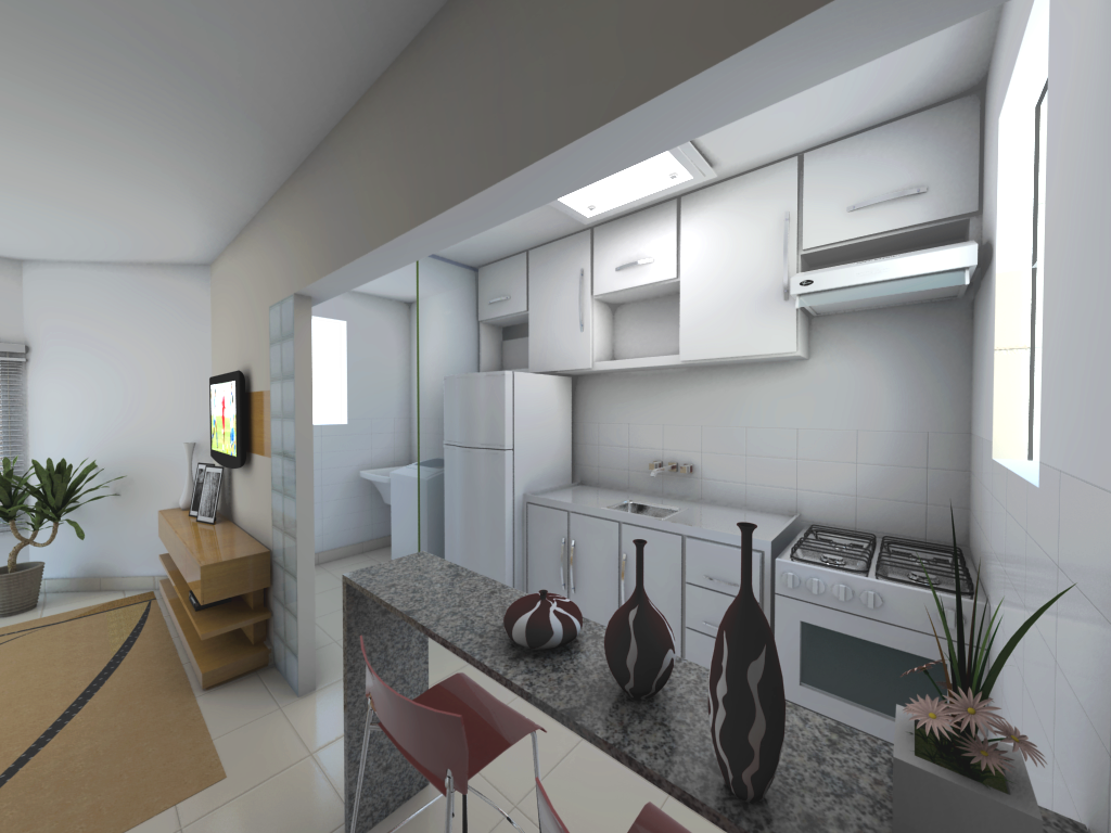 Design Sala E Cozinha Conjugada Moderna Galer A De Fotos De