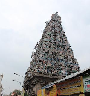 Kapaleeshwar in Chennai