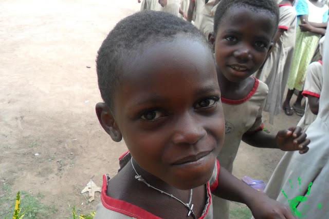 I bambini africani della scuola primaria di Atchanvé, Togo