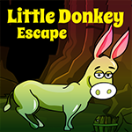 Games4King Little Donkey Escape