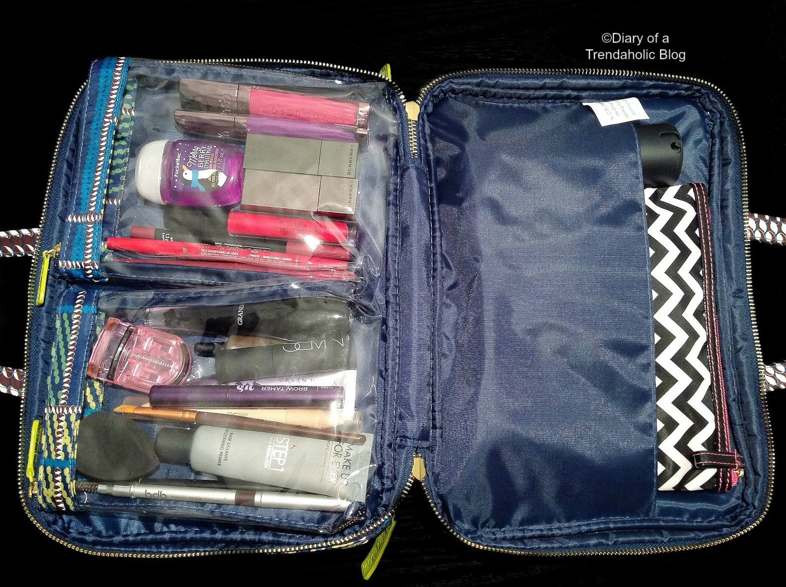 Diary of a Trendaholic : How to Pack & Organize Makeup & Beauty ...