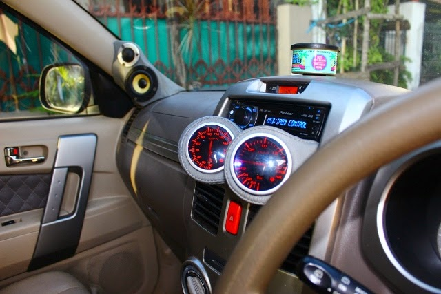 modifikasi interior mobil terios