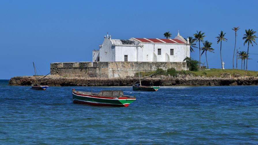 Ile de Moçambique Fortin de Santo António