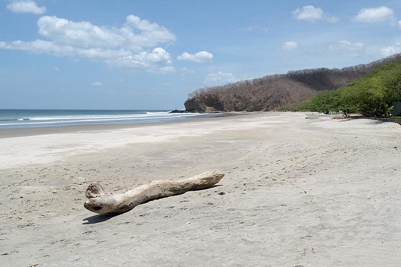 Plage au Nicaragua