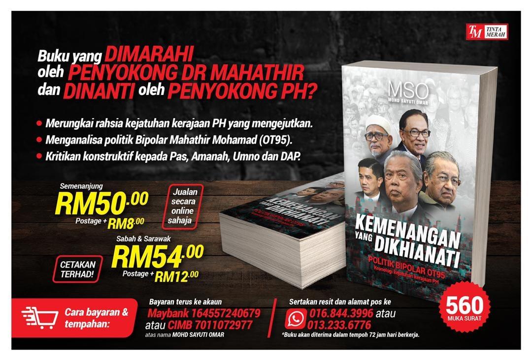 Iklan Buku Khianat
