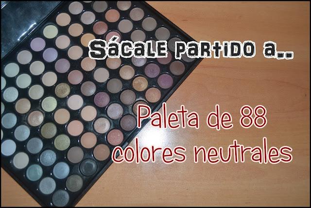 Sácale partido a... paleta de 88 colores neutrales