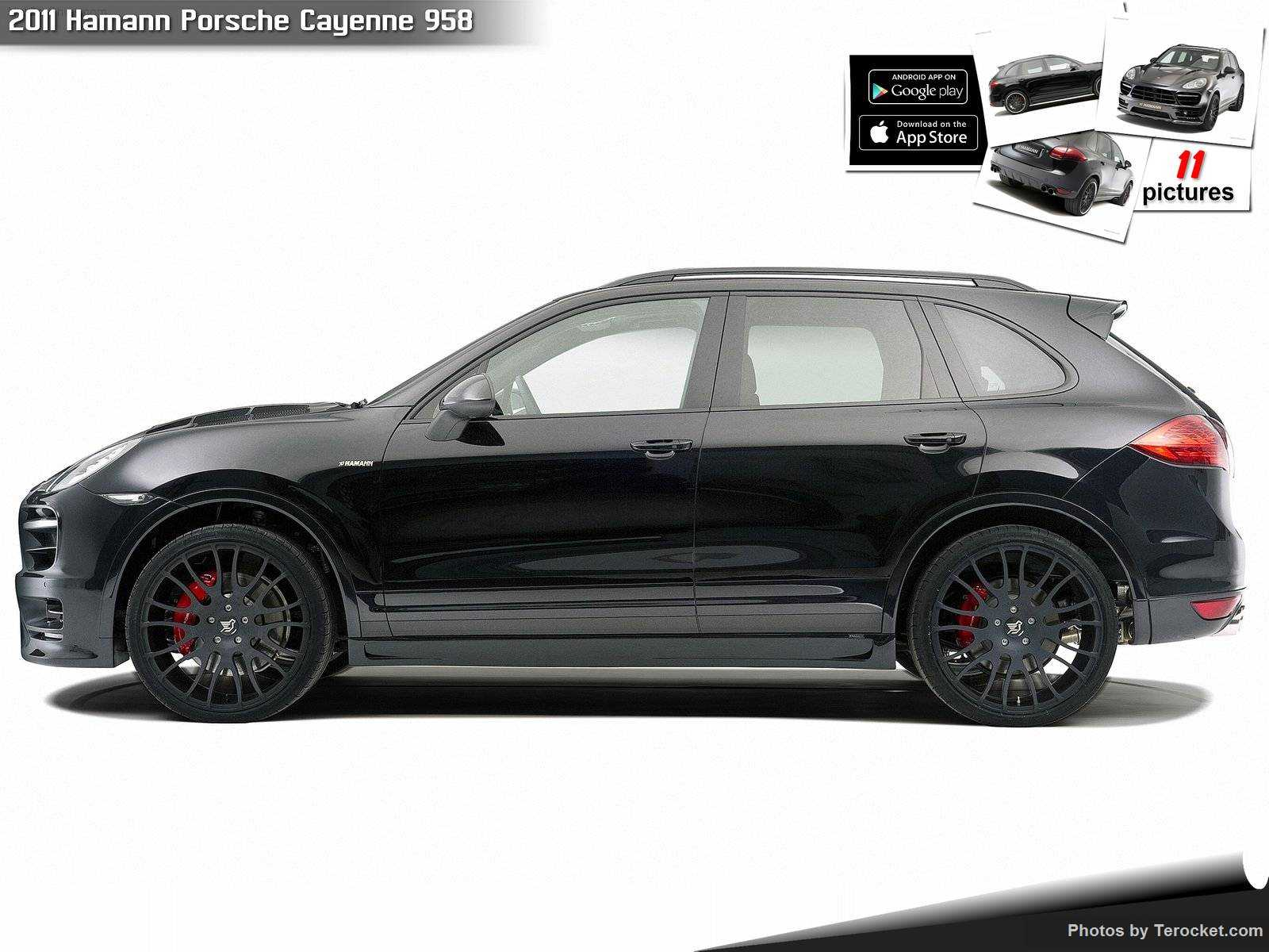 Hình ảnh xe ô tô Hamann Porsche Cayenne 958 2011 & nội ngoại thất