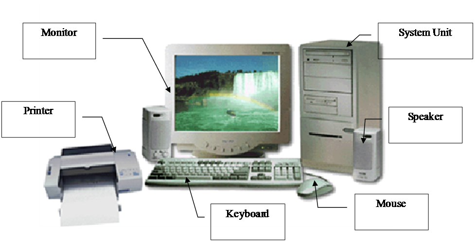 computer Education: Computer Basics ( Input Device and Output Device)