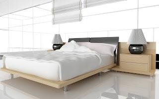 Dormitorio rodeado de ventanales y luz