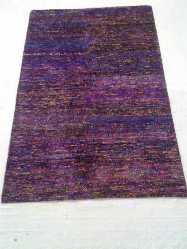sari silk rugs india