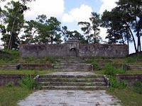 Tomb recinto porta do Imperador Gia Long
