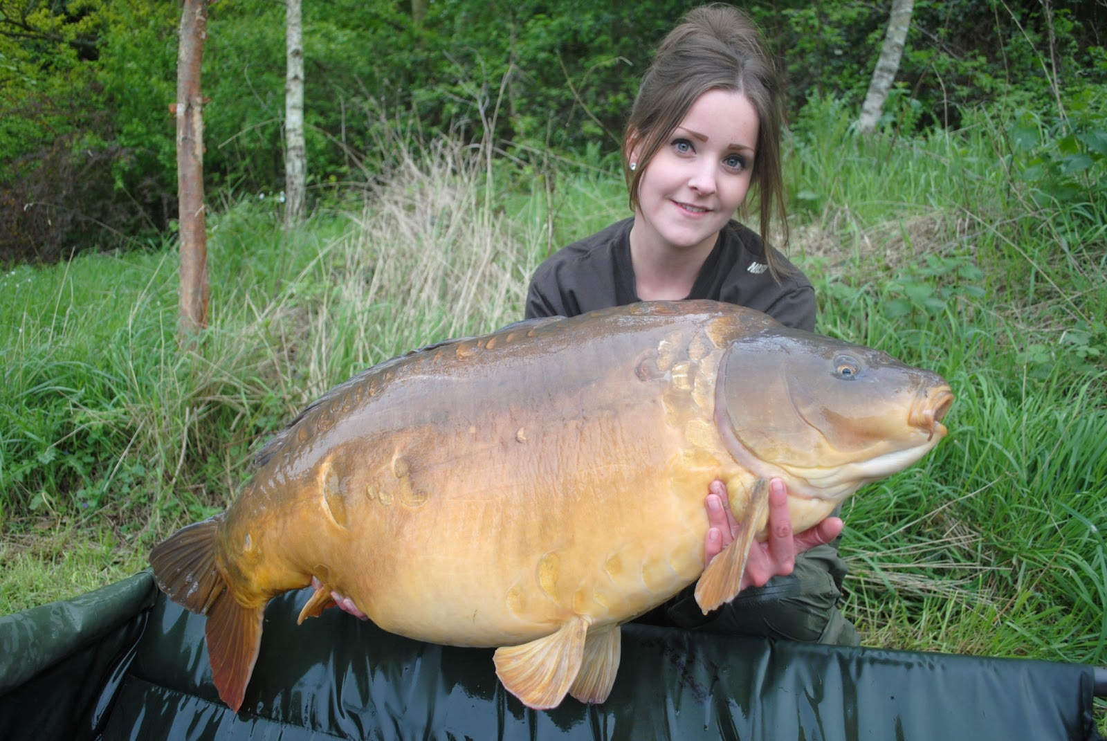 Obsessive carp disorder ocd clothing ocd 39 s katie for Fishing for carp