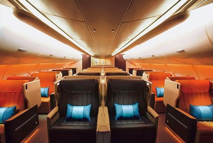 Airbus A380 Interior Picture From Singapore Airlines