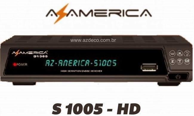 ATUALIZAÇÃO AZAMERICA S1005 HD V.1.09.11027 - 19.03.2014