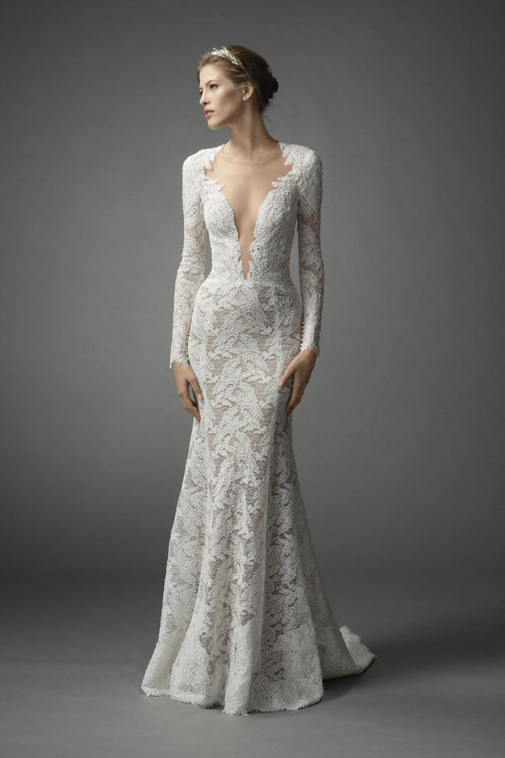 wedding dresses cold climates: Israeli Wedding Dress Designer NYC