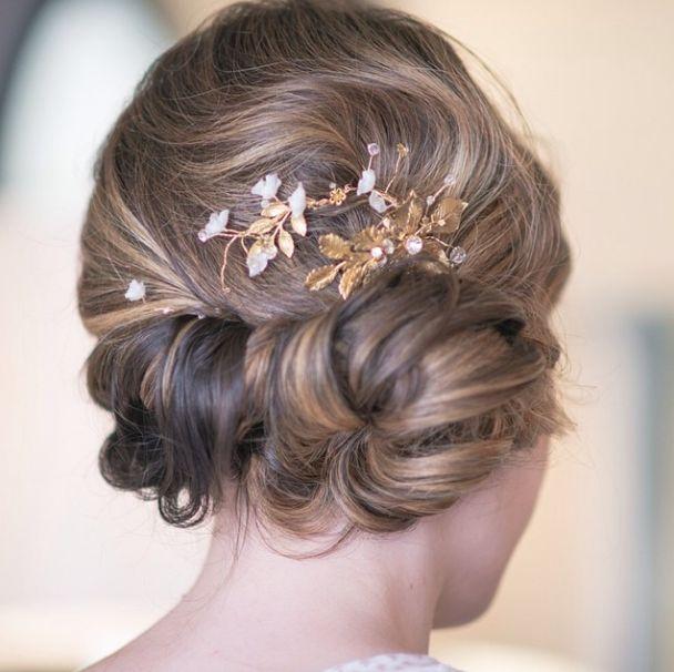 aqu las mejores imgenes de los mejores peinados recogidos para novias 20152016como fuente de inspiracin
