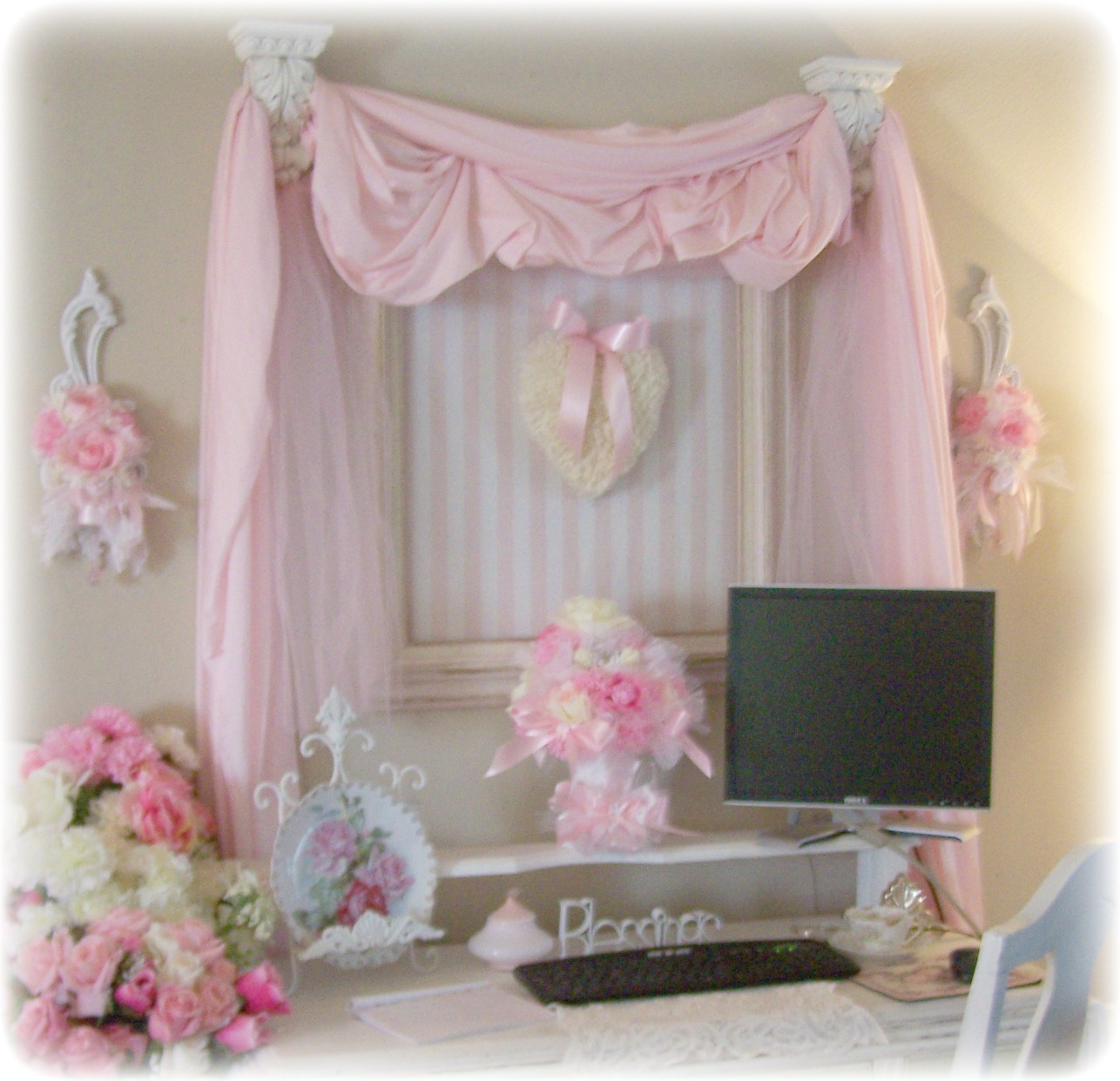 Olivia's Romantic Home: Shabby Chic Office