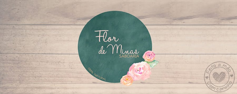 Saboaria Artesanal - Flor de Minas.