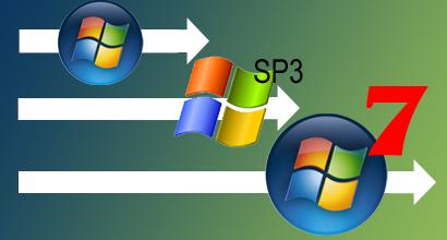Windows XP SP3 Green Windows 7 SP1 x86 32BIT OFFICIAL UNTOUCH MULTIBOOT 1DVD Single Direct Link provided by RequestForDownloads.com