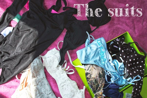 Bademode Sammlung Triangl H&M Other Stories Bikini 2014 Urban Outfitters Strandmode Vintage