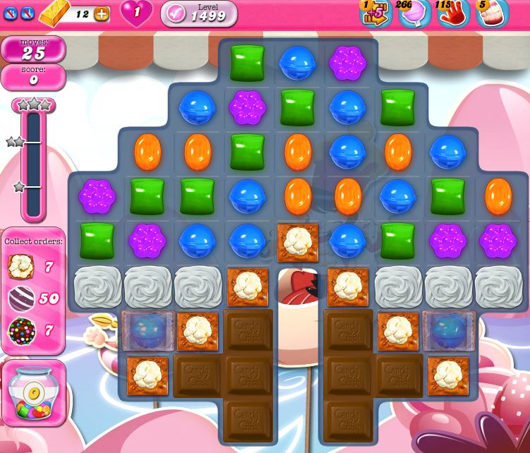Candy Crush Saga 1499