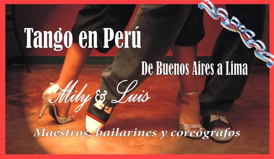 TANGO  en  PERU  ... de Buenos Aires a Lima